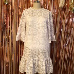 Kate Spade White Lace Dress
